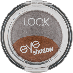 Bild: LOOK BY BIPA Eyeshadow Duo silver & bronze