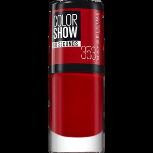 Bild: MAYBELLINE Colorshow 60 Seconds Nagellack Red Stiwa