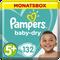 Bild: Pampers Baby Dry Gr.5+ Junior Plus 12-17kg MonatsBox
