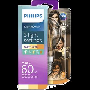 Bild: PHILIPS SceneSwitch LED Lampe 60W
