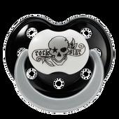 Bild: Rockstar Baby Schnuller Silikon Gr.2 Tatto-Pirat