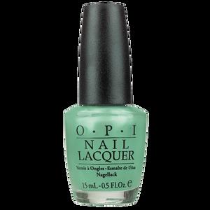 Bild: O.P.I Nail Lacquer go on green