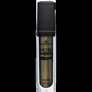 Bild: essence Metal Shock Lip Paint poison ivy