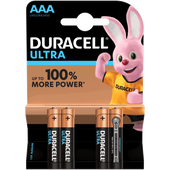 Bild: DURACELL Ultra Power Alkaline AAA Batterien