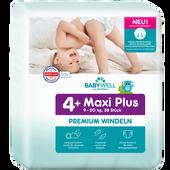 Bild: BABYWELL Premium-Windeln Maxi Plus Gr. 4+