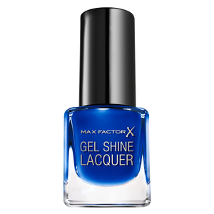 Bild: MAX FACTOR Mini Gel Shine Nagellack glazed cobalt