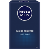 Bild: NIVEA MEN Just Blue Eau de Toilette (EdT)
