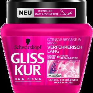 Bild: Schwarzkopf GLISS KUR Hair Repair Intensive Reparatur Maske Verführerisch Lang