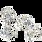Bild: LOOK BY BIPA Haarspirale mit Strasssteinen in Blumenform