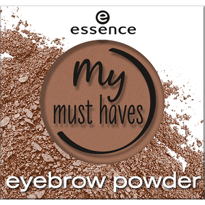 Bild: essence My Must Haves Eyebrow Powder bold blond