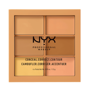 Bild: NYX Professional Make-up Conceal,Correct, Contour Palette medium