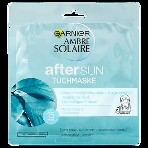 Bild: GARNIER AMBRE SOLAIRE After Sun Tuchmaske