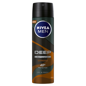 Bild: NIVEA MEN Deospray Deep Dry & Clean