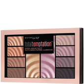 Bild: MAYBELLINE Total Temptation Eyeshadow & Highlighter Palette