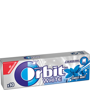 Bild: Orbit White Sweet Mint Kaugummi