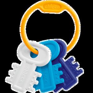 Bild: Chicco Schlüsselbeißring blau