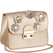 Bild: LOOK BY BIPA Crossbody Bag Flower gold