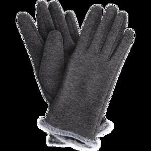 Bild: LOOK BY BIPA Handschuhe mit Plüsch grau
