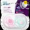 Bild: PHILIPS AVENT Schnuller Ultra Air, 0-6 Monate, Baum/Wolke rosa/türkis