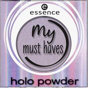 Bild: essence my must haves holo powder Lidschatten 03