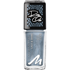 Bild: MANHATTAN Last & Shine Nail Polish Collection by Rita Ora pedal to the metal