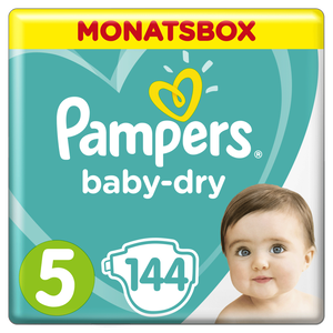 Bild: Pampers Baby Dry Gr.5 Junior 11-16kg MonatsBox