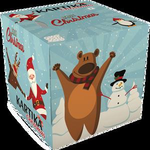 Bild: KARTIKA Taschentücherbox Weihnachtsmotiv