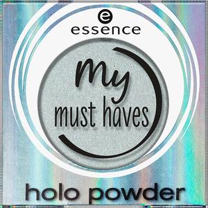 Bild: essence my must haves holo powder Lidschatten 04