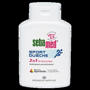 Bild: sebamed Sportdusche 2in1