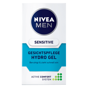 Bild: NIVEA MEN Hydro Gel Gesichtspflege sensitive
