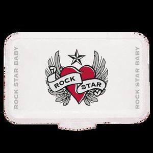 Bild: Rockstar Baby Lunch Box Heart & Wings
