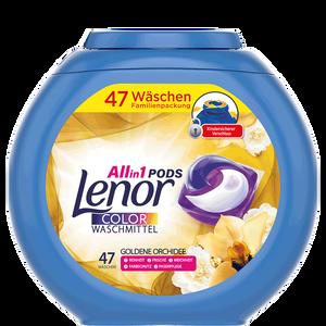 Bild: Lenor 3in1 Pods Colorwaschmittel Goldene Orchidee