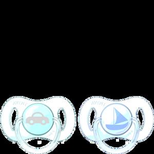 Bild: PHILIPS AVENT Schnuller Mini, 0-2 Monate, blau