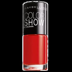 Bild: MAYBELLINE Colorshow Nagellack power red