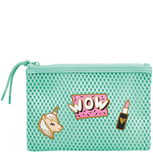 Bild: LOOK BY BIPA Mesh Clutch mint