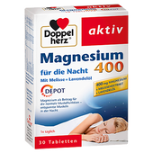 Bild: DOPPELHERZ Magnesium für die Nacht 400