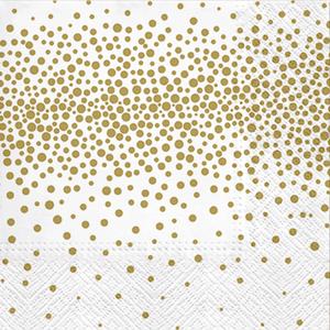 Bild: Servietten gold bedruckt