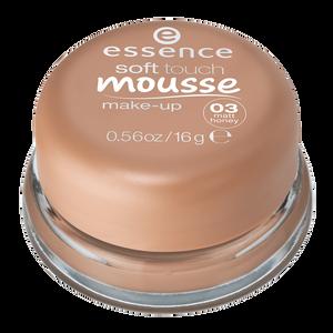 Bild: essence Soft Touch Mousse Make Up matt honey
