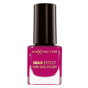Bild: MAX FACTOR Max Effect Mini Nagellack fuchsia salsa