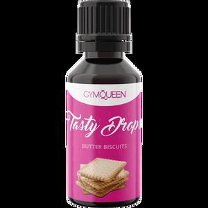 Bild: GYMQUEEN Tasty Drops Butter Biscuits