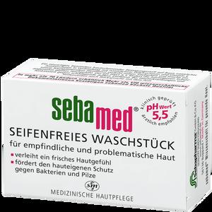 Bild: sebamed seifenfreies Waschstück