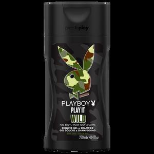 Bild: Playboy Play it Wild for him Shower Gel & Shampoo