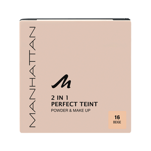 Bild: MANHATTAN Perfect Teint 2in1 Powder & Make Up beige