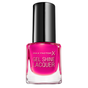 Bild: MAX FACTOR Mini Gel Shine Nagellack twinkling pink
