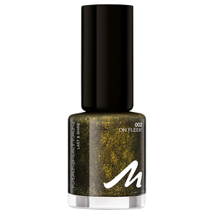 Bild: MANHATTAN Last & Shine Nagellack Xmas Glitter on fleek!