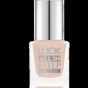 Bild: LOOK BY BIPA All in 1 Step Nagellack 490 simply nude