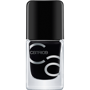 Bild: Catrice ICONails Gel Lacquer Nagellack Black To The Routes