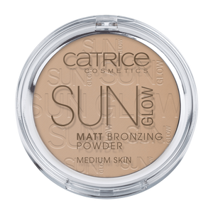 Bild: Catrice Sun Glow Matt Bronzing Powder medium bronze