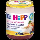 Bild: HiPP Guten Morgen Blaubeere in Apfel-Joghurt-Müesli