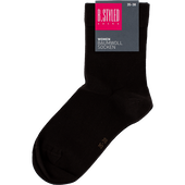 Bild: B.STYLED Woman Baumwoll Socken braun